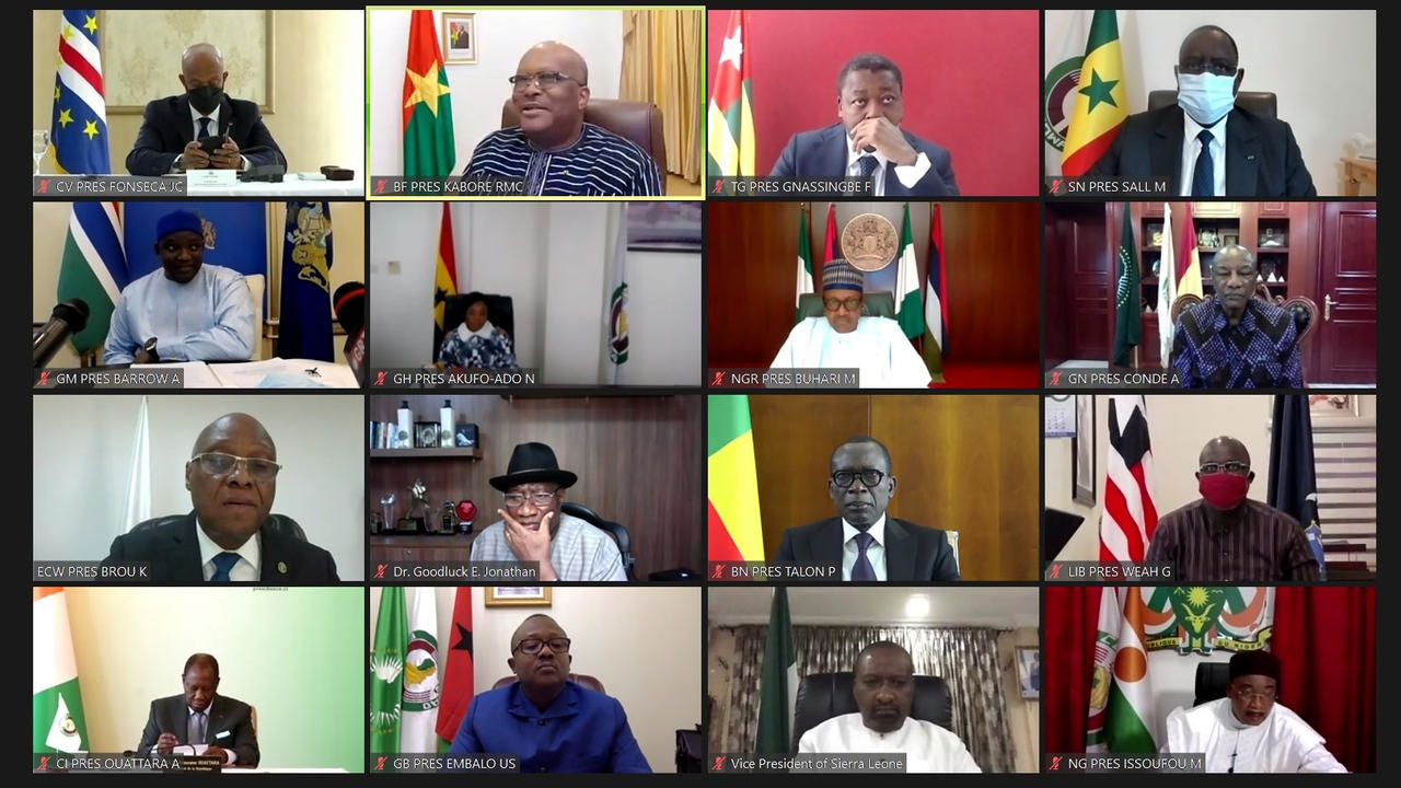 Photo of ECOWAS demands civilian transition in Mali, elections within a year