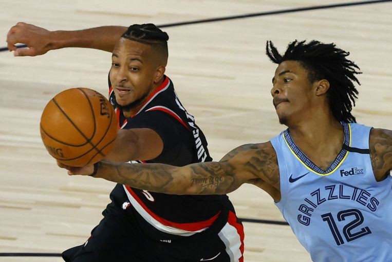 Photo of Basketball: Blazers oust Grizzles, book NBA playoff clash with Lakers