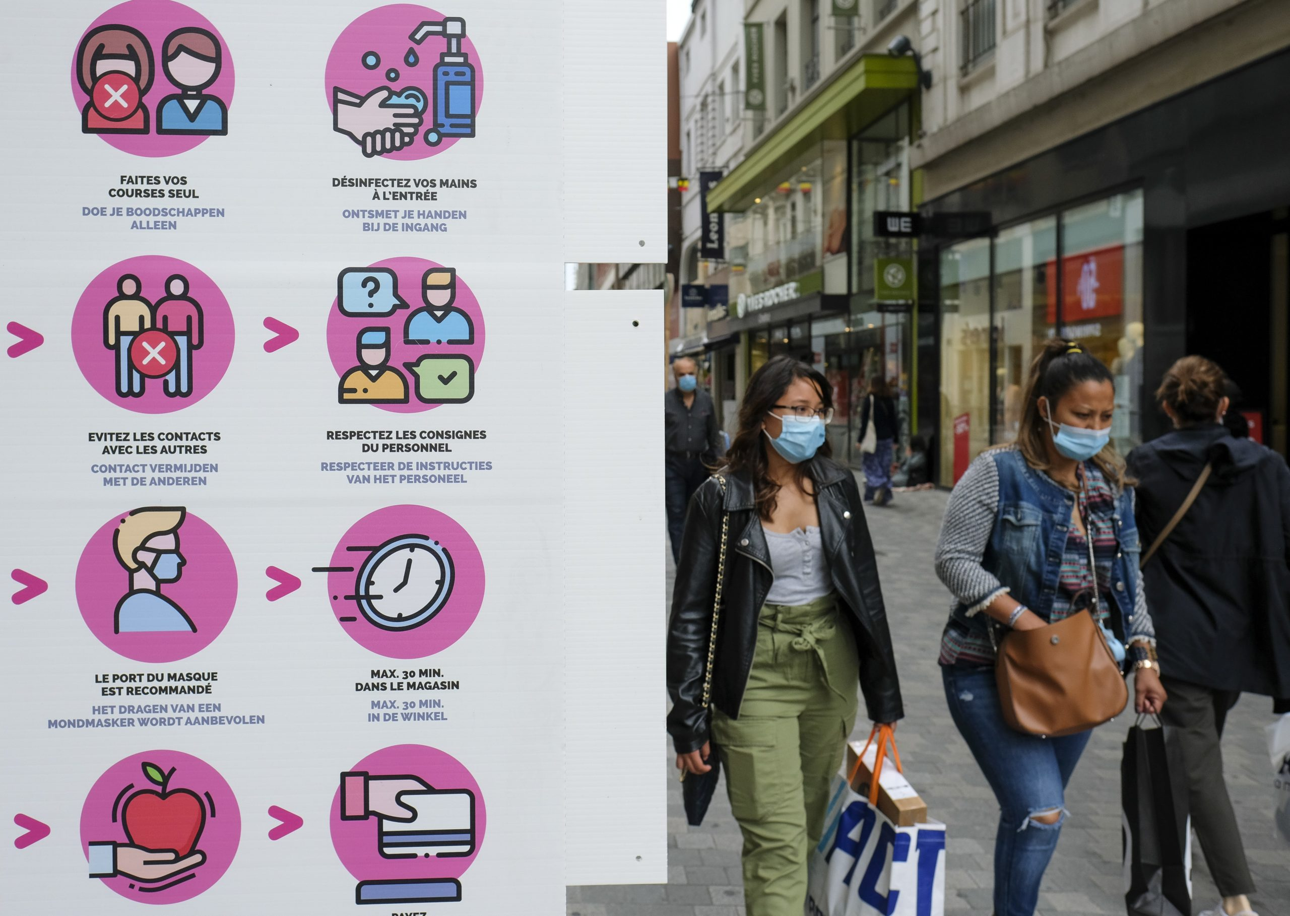 Photo of City of Brussels: Tougher mask rules needed if COVID-19 cases keep rising