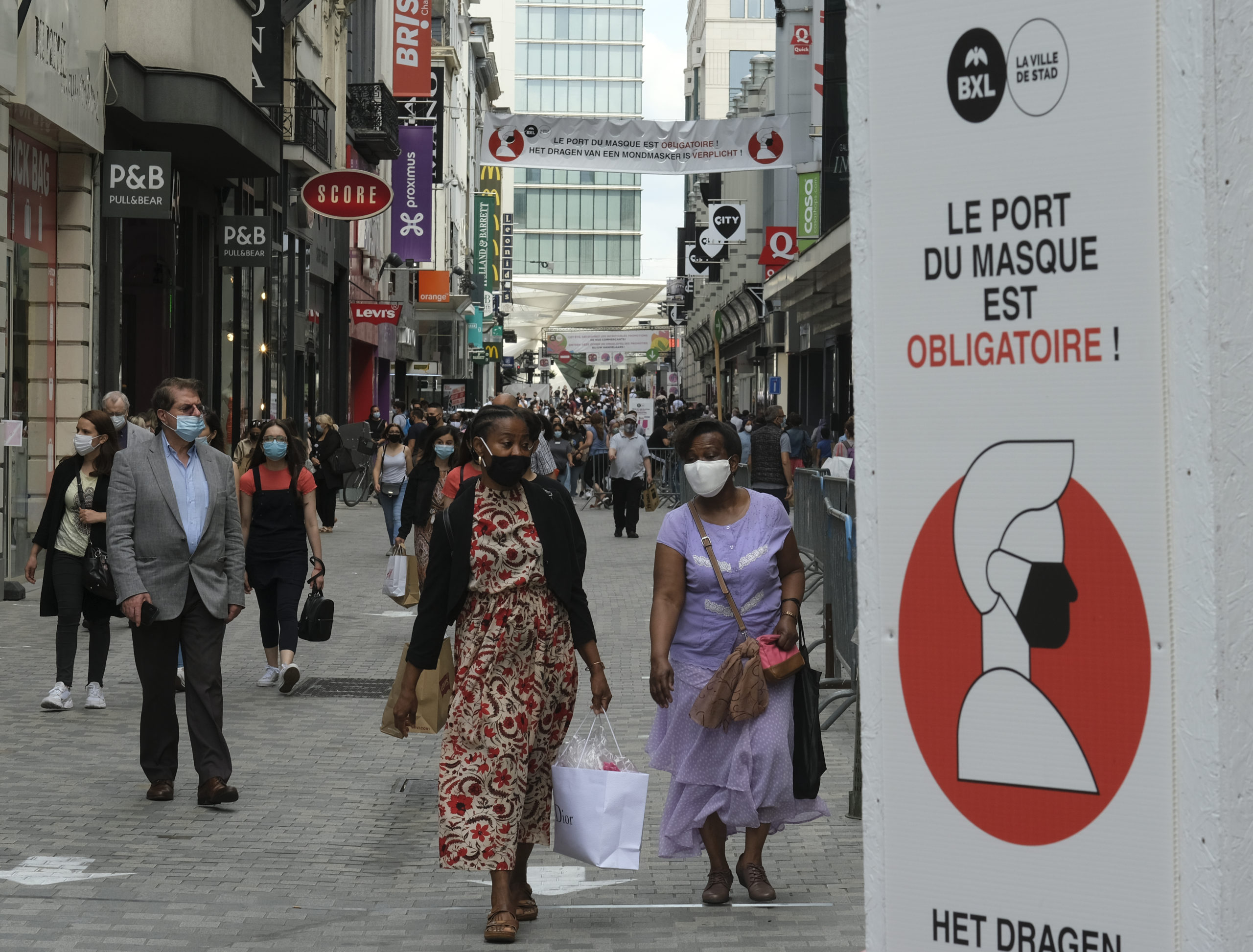 Photo of Brussels to keep face mask rule at least until mid-September
