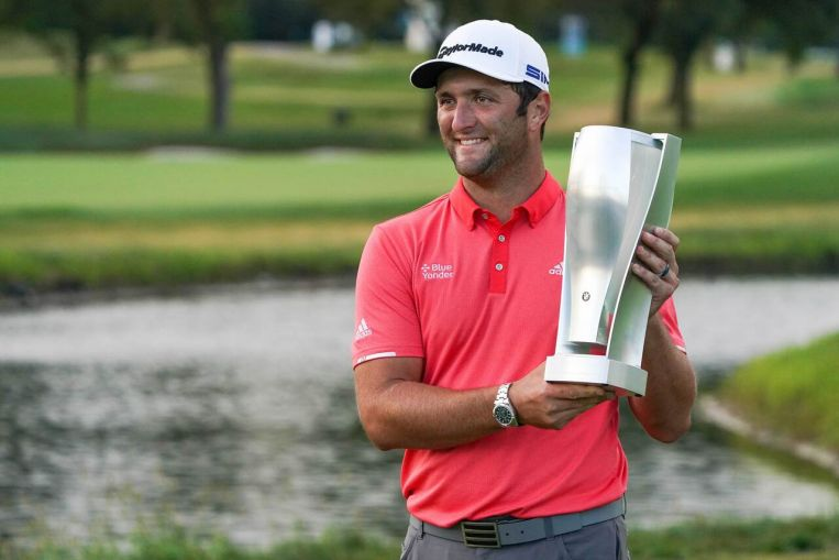 Photo of Golf: Birdie bomb lifts Jon Rahm to BMW playoff triumph over Dustin Johnson