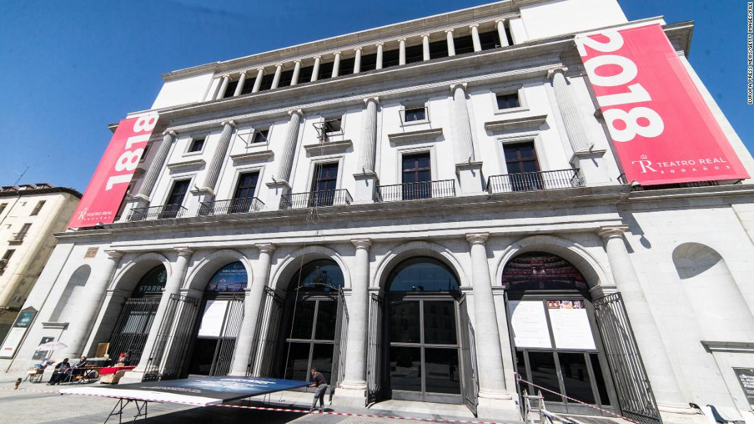 Photo of Madrid opera canceled after audience revolts over social distancing concerns