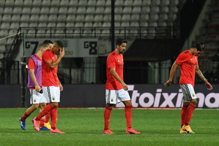 Photo of Football: Benfica dumped out of Champions League by PAOK
