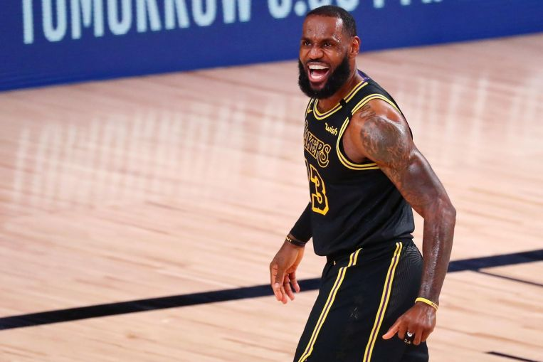 Photo of NBA: Led by LeBron James and Anthony Davis, Lakers hold off Rockets to even play-off series at 1-1