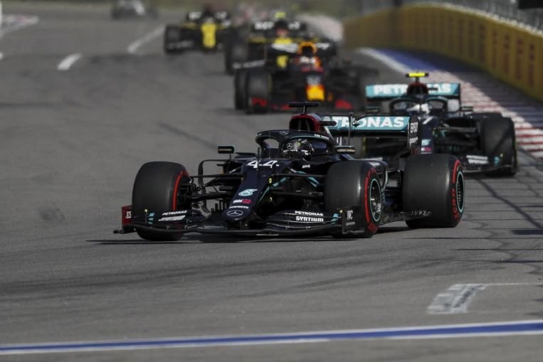Photo of Formula One: Lick your wounds and learn, Ross Brawn tells Lewis Hamilton after Russian GP penalties