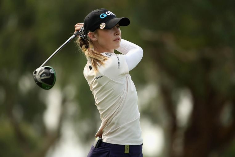 Photo of Golf: Nelly Korda fires 66 to seize lead at LPGA's ANA Inspiration after first round