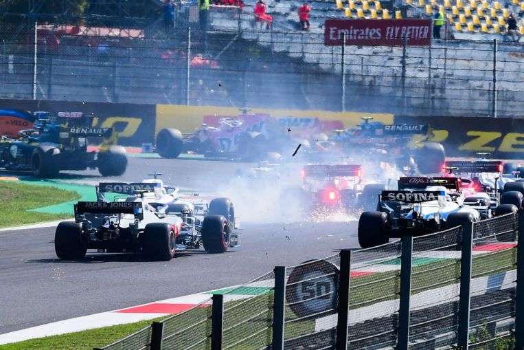 Photo of Motor racing: F1 drivers wrote to race director after Mugello chaos