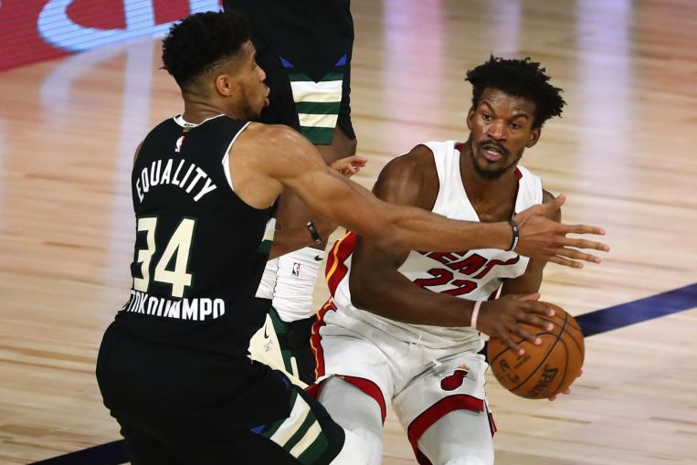 Photo of NBA: Jimmy Butler's free throws give Miami Heat 2-0 edge on top seeds Milwaukee Bucks
