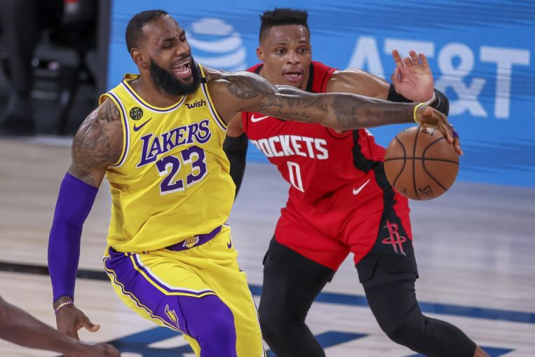 Photo of NBA: Los Angeles Lakers win Game Four of semi-finals, put Houston Rockets on the brink of elimination