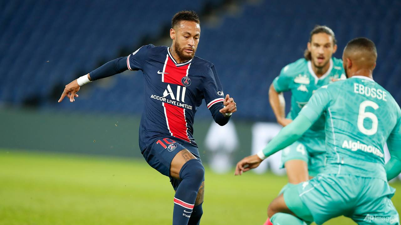 Photo of Football: Neymar scores 2, PSG routs Angers 6-1 in French league