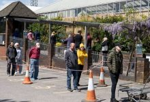 Photo of Garden centre CHAOS: Britons furious at absurd queues as hundreds flout distance rules