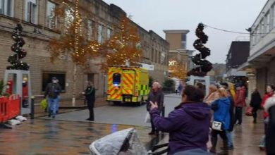 Photo of Burnley stabbing: Shoppers seriously injured at M&S – police rush to scene