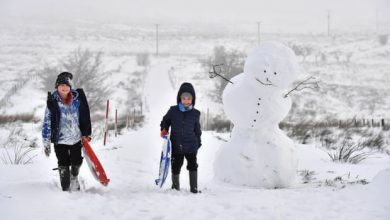 Photo of Snow may not settle in most of UK by end of century, study suggests