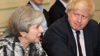 Photo of Theresa May accuses Boris Johnson of abandoning British 'global moral leadership'