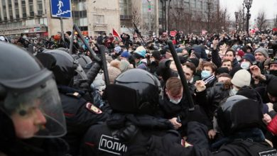 Photo of Russia downplays Navalny protests as it dismisses US 'diktats'