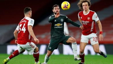 Photo of Manchester United concede ground in title race with battling draw at Arsenal