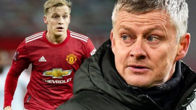 Photo of Manchester United boss Solskjaer gives worrying Van de Beek insight – 'Wouldn't say happy'