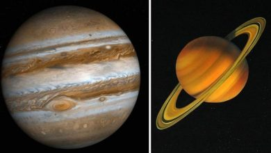 Photo of Saturn and Jupiter in conjunction – NASA satellite images show where gas giants are now