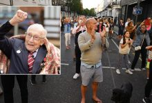 Photo of UK honours memory of Captain Tom Moore with nationwide clap